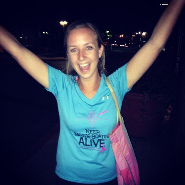Hey gurl heyyyy! Love the shirt! #keepmotorboatingalive #savethegirls