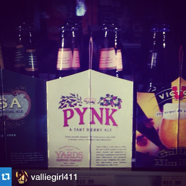 #Repost from @valliegirl411 with @repostapp --- Look what I found at Canton Crossings Wine and Spirits! #drinkpynk #savethegirls