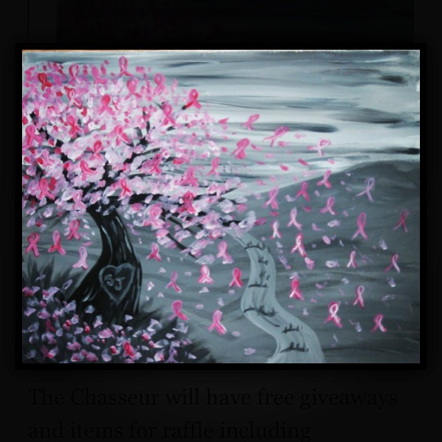 Who doesn't love a little creative drinking!? Thanks @thechasseur and @paintnitebmore for hosting this paint nite Sunday, October 5th! Food and drink specials, raffle prizes and more! http://tyanna.org/baltimore/events/paint-night-at-the-chasseur/ #events #paintnite #SaveTheGirls
