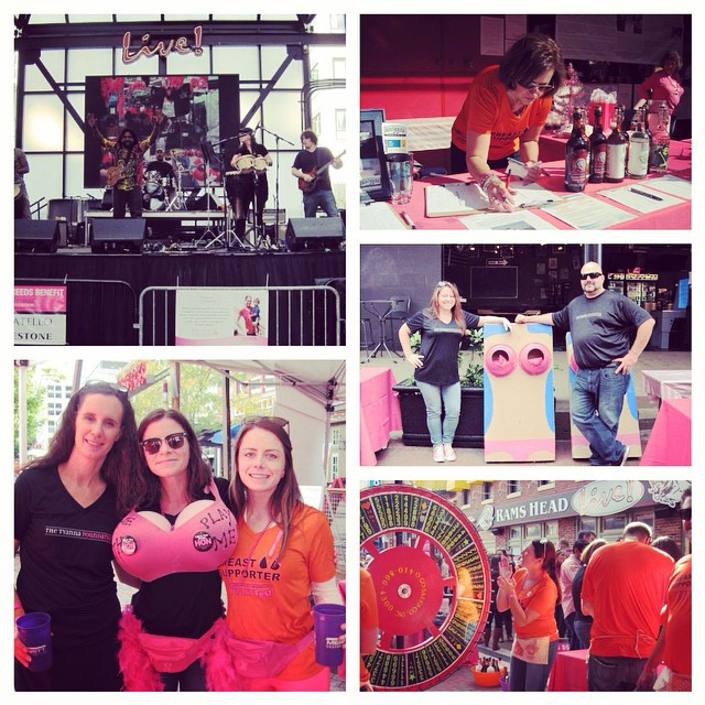 Thanks to all volunteers, breast supporters and guests who came to BreastFest Baltimore on Saturday! It was an absolute blast! Couldn't do it without you all! Hope you had as much fun as we did. Cheers! #breastfest2014 #breastcancerawareness