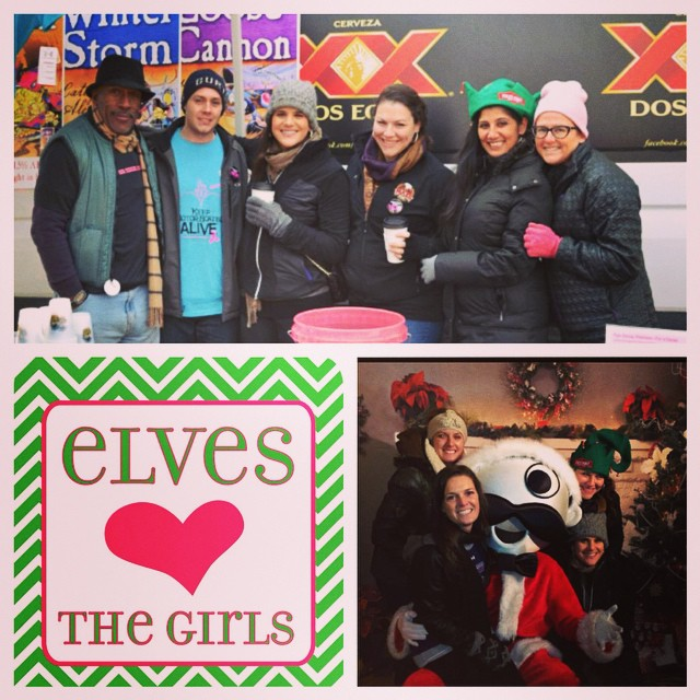 Join the Tyanna Foundation Volunteers again this year at the Fells Point Olde Tyme Christmas Festival! Spread holiday join and breast cancer awareness while serving beers this Saturday, December 6th. Sign up today by emailing Tyanna.foundation@gmail.com #SaveTheGirls #beer #Volunteer #FellsPoint