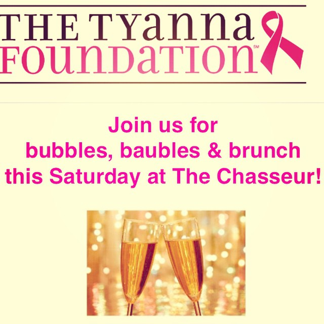 Calling all ladies! Grab your girlfriends for brunch this Saturday October 8th at @thechasseur and do some shopping with @stelladot ! Get your tix before they sell out. Check out our Facebook page for details ?