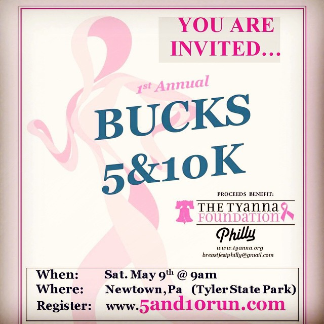 Hey Philly Friends! Register this week for the Bucks 5/10k and enter to win a VIP package to BreastFest Philly on September 19th at McFadden's Citizen Bank Park! Includes 4 tickets to #BreastFest Philly and 2 t-shirt vouchers. Offer ends Saturday April 18th! #philly #SaveTheGirls #events #runfortoday