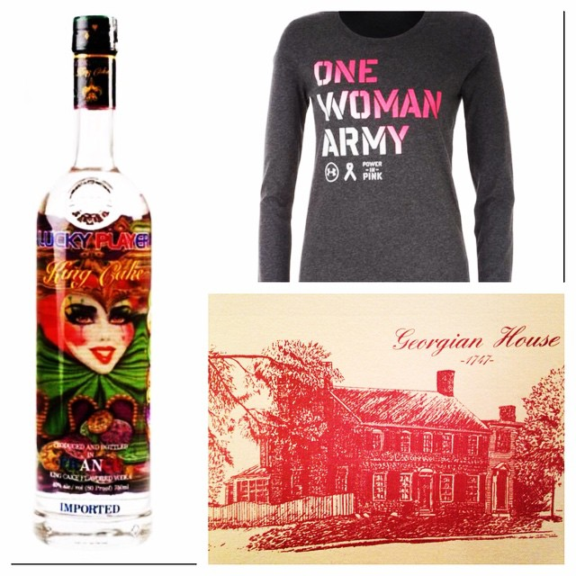 Preview of a few prizes for Friday nights Booby Bash at @magerkspubfh 7-10pm. Join us for drink and food specials upstairs! 50/50 raffle prizes and more! #SaveTheGirls #BoobyBash #Events